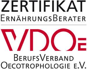 Zertifikat Ernährungsberater Ökotrophologe